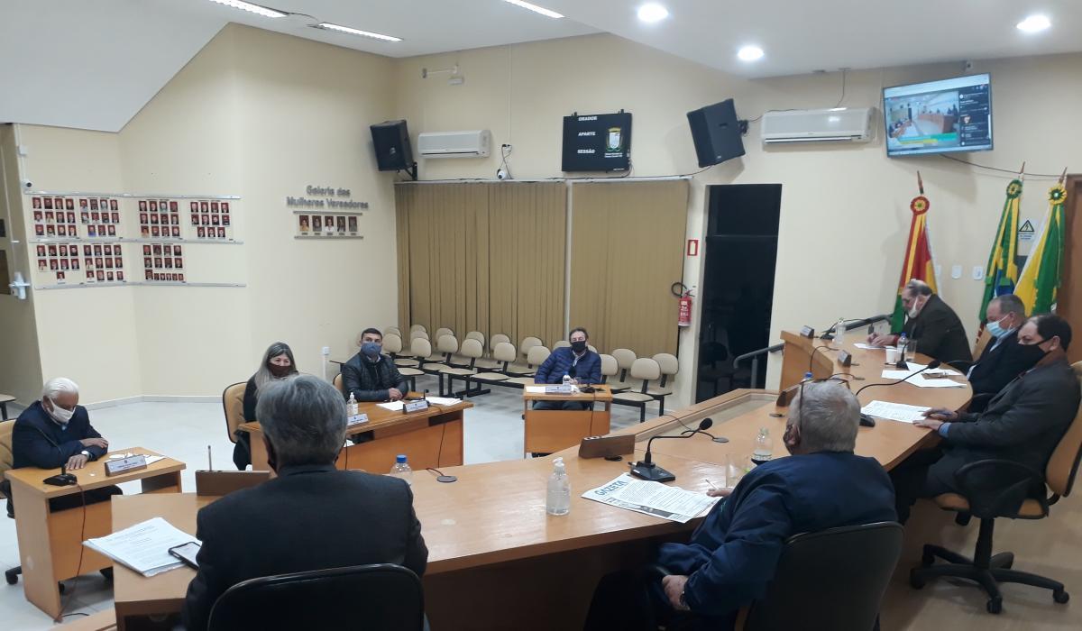 Próxima Sessão do Legislativo Municipal ocorrerá no dia 15 de setembro
